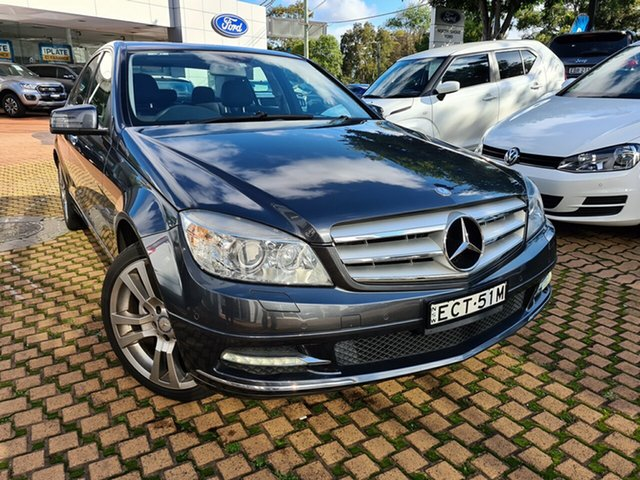 Used Mercedes-Benz C-Class C250 BlueEFFICIENCY 7G-Tronic + Avantgarde, Artarmon, 2011 Mercedes-Benz C-Class C250 BlueEFFICIENCY 7G-Tronic + Avantgarde Sedan