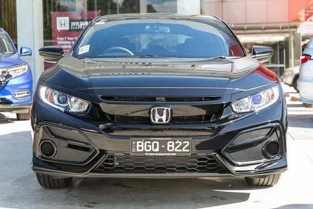 Demonstrator, Demo, Near New Honda Civic VTi, Springvale, 2020 Honda Civic VTi 10th Gen MY20 Hatchback