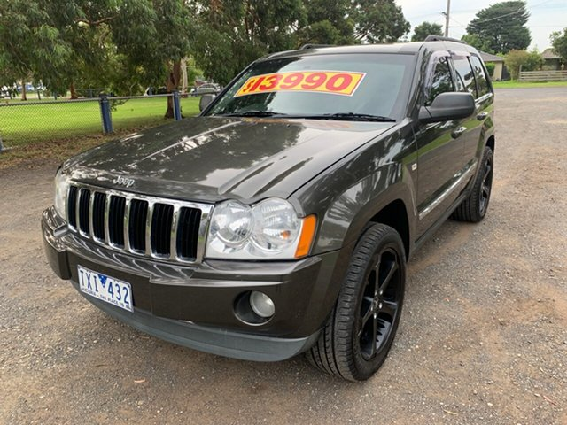Used Jeep Grand Cherokee Limited, Cranbourne, 2005 Jeep Grand Cherokee Limited Wagon