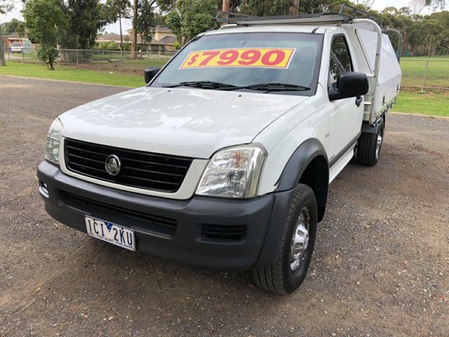 Used Holden Rodeo DX SINGLE CAB, Cranbourne, 2004 Holden Rodeo DX SINGLE CAB Cab Chassis