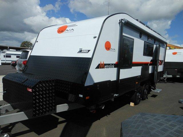 New Nova Caravans Metrolink 19-1R Z Sereis [NC4490], Pialba, 2020 Nova Caravans Metrolink 19-1R Z Sereis [NC4490] Caravan