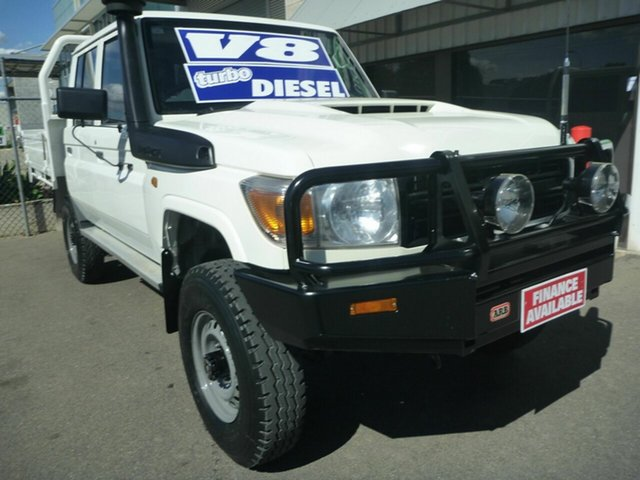 Used Toyota Landcruiser Workmate Double Cab, Edwardstown, 2017 Toyota Landcruiser Workmate Double Cab Cab Chassis
