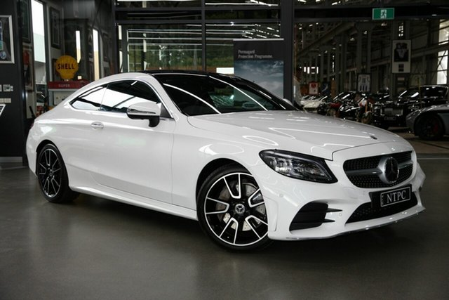 Used Mercedes-Benz C-Class C300 9G-Tronic, North Melbourne, 2019 Mercedes-Benz C-Class C300 9G-Tronic Coupe