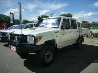 2017 Toyota Landcruiser Workmate Double Cab Cab Chassis.