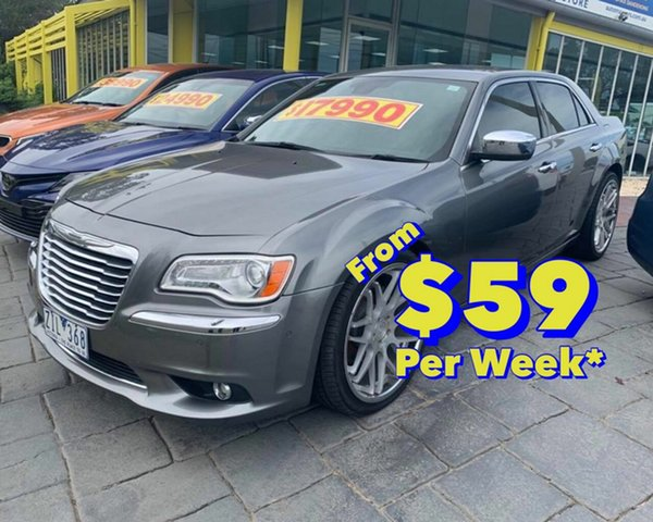 Discounted Used Chrysler 300 C E-Shift Luxury, Cranbourne, 2012 Chrysler 300 C E-Shift Luxury Sedan