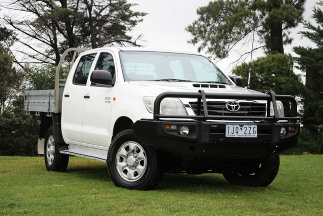 Used Toyota Hilux SR Double Cab, Officer, 2012 Toyota Hilux SR Double Cab Utility