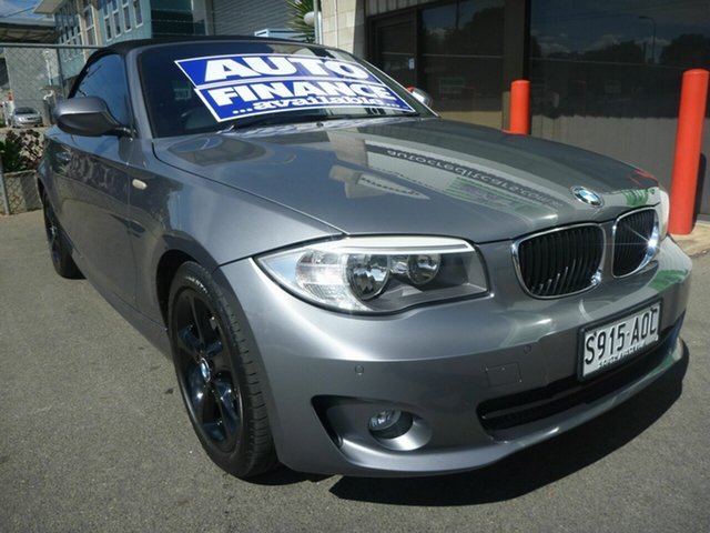 Used BMW 1 Series 118d Steptronic, Edwardstown, 2011 BMW 1 Series 118d Steptronic Convertible
