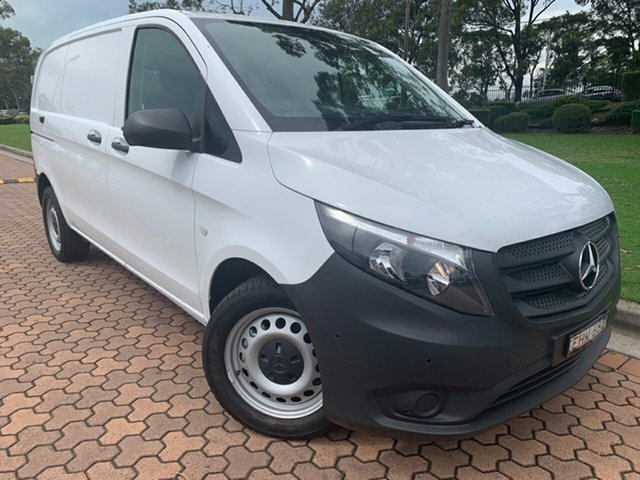 Discounted Demonstrator, Demo, Near New Mercedes-Benz Vito 114BlueTEC SWB 7G-Tronic +, Warwick Farm, 2018 Mercedes-Benz Vito 114BlueTEC SWB 7G-Tronic + Van