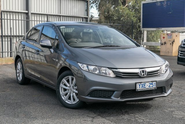 Used Honda Civic VTi-L, Oakleigh, 2012 Honda Civic VTi-L 9th Gen Sedan