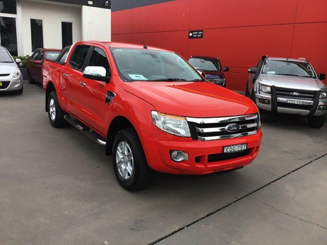 Used Ford Ranger XLT Double Cab, Narellan, 2013 Ford Ranger XLT Double Cab Utility