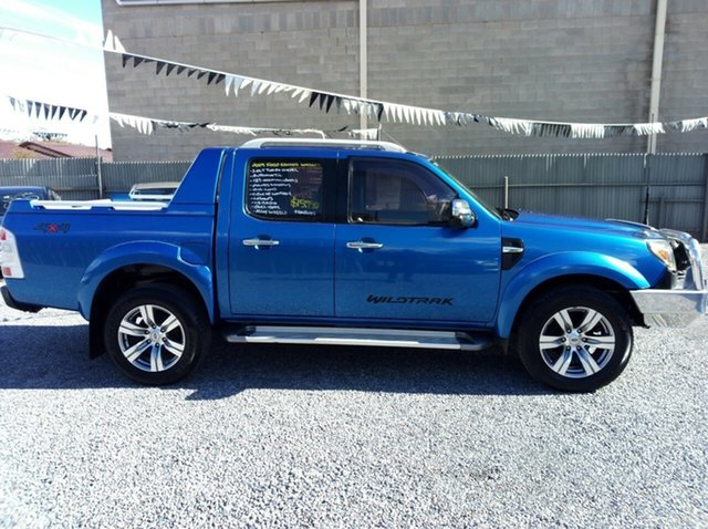 Used Ford Ranger Wildtrak (4x4), Klemzig, 2009 Ford Ranger Wildtrak (4x4) Dual Cab Pick-up