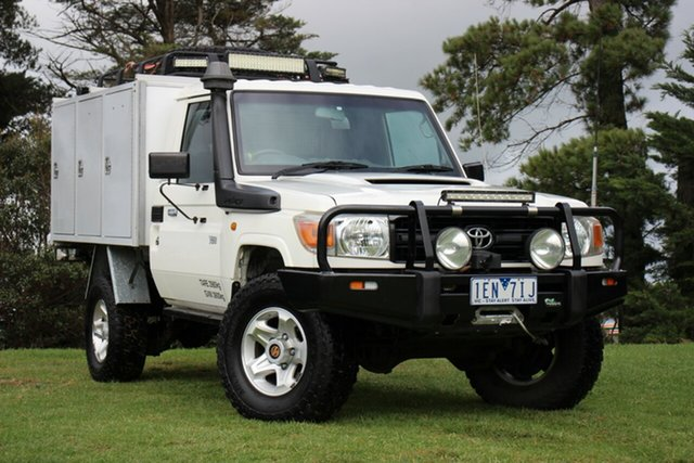 Used Toyota Landcruiser Workmate, Officer, 2009 Toyota Landcruiser Workmate Cab Chassis