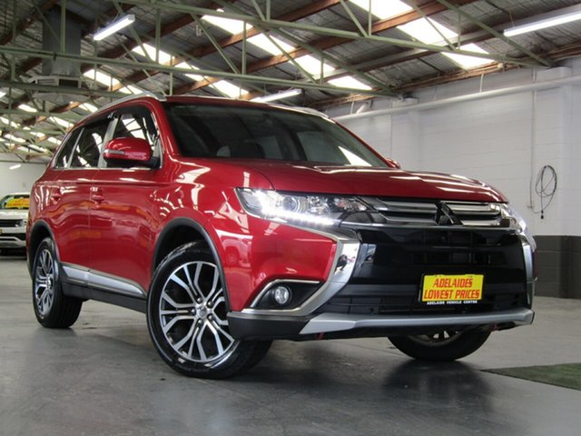 Used Mitsubishi Outlander LS 4WD, Enfield, 2016 Mitsubishi Outlander LS 4WD Wagon