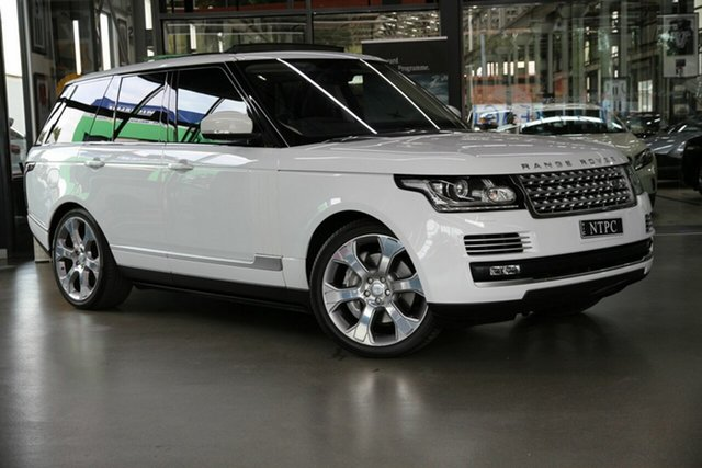Used Land Rover Range Rover SDV8 Vogue SE, North Melbourne, 2015 Land Rover Range Rover SDV8 Vogue SE Wagon