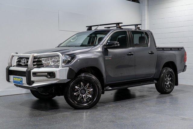Used Toyota Hilux SR (4x4), Slacks Creek, 2017 Toyota Hilux SR (4x4) Dual Cab Utility