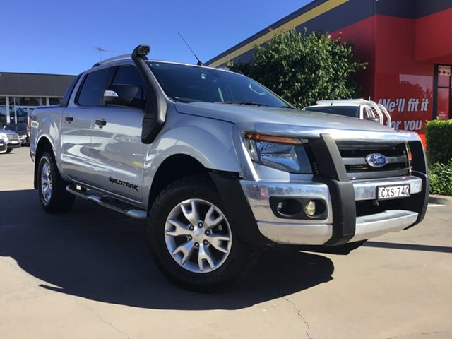 Used Ford Ranger Wildtrak Double Cab, Narellan, 2014 Ford Ranger Wildtrak Double Cab Utility