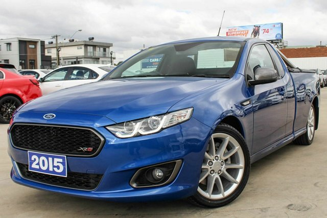 Used Ford Falcon XR6 Ute Super Cab Turbo, Coburg North, 2015 Ford Falcon XR6 Ute Super Cab Turbo Utility