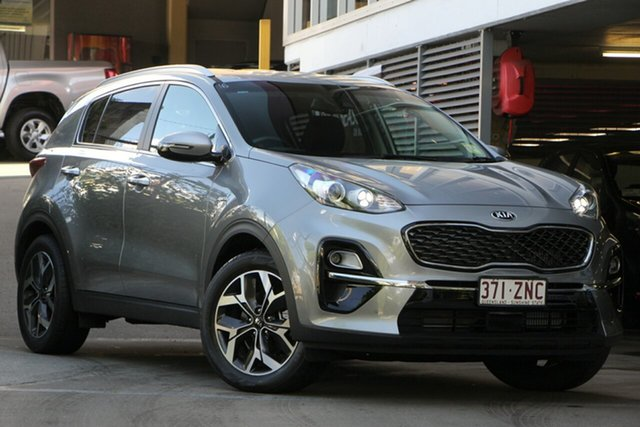 Demonstrator, Demo, Near New Kia Sportage SX+ AWD, Toowong, 2019 Kia Sportage SX+ AWD Wagon