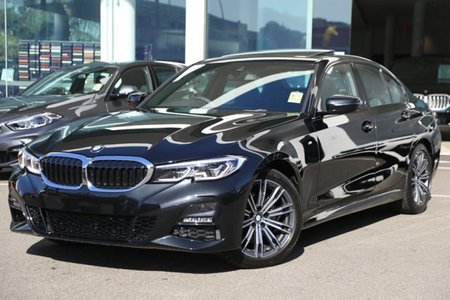 Demonstrator, Demo, Near New BMW 320i M Sport, Brookvale, 2019 BMW 320i M Sport Sedan