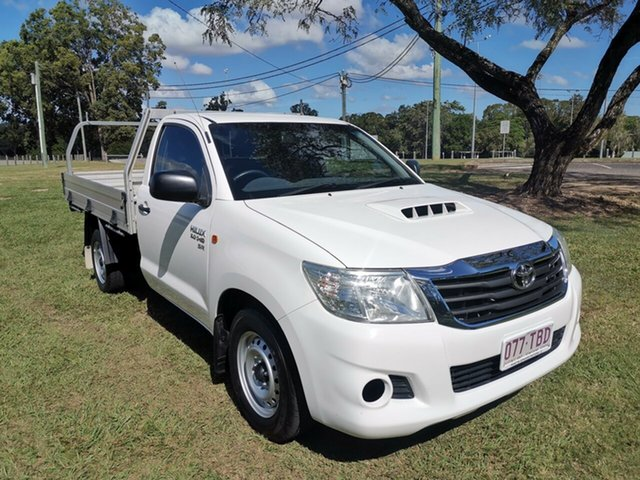 Used Toyota Hilux SR 4x2, Morayfield, 2013 Toyota Hilux SR 4x2 Cab Chassis