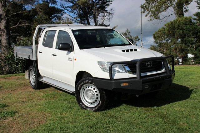 Used Toyota Hilux SR Double Cab, Officer, 2014 Toyota Hilux SR Double Cab Cab Chassis