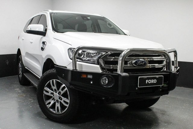 Used Ford Everest Trend 4WD, Cardiff, 2018 Ford Everest Trend 4WD Wagon