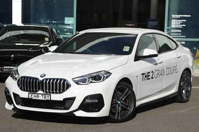 Demonstrator, Demo, Near New BMW 218i M Sport Gran Coupe, Brookvale, 2020 BMW 218i M Sport Gran Coupe Coupe