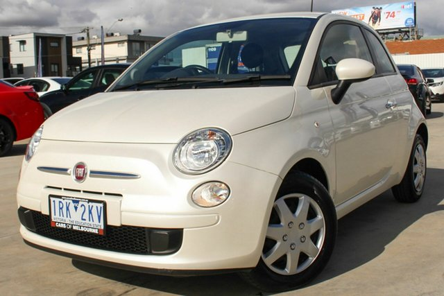 Used Fiat 500 Pop Dualogic, Coburg North, 2013 Fiat 500 Pop Dualogic Hatchback