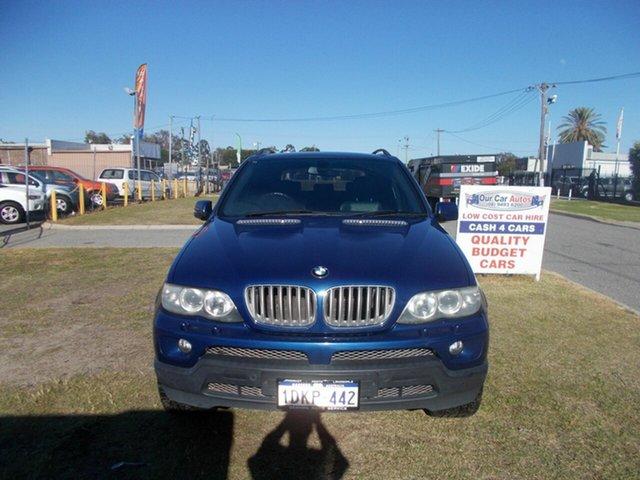 Discounted Used BMW X5 4.4I, Maddington, 2005 BMW X5 4.4I Wagon