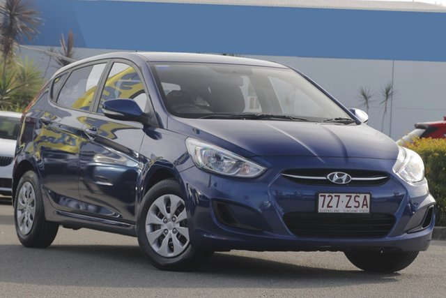 Used Hyundai Accent Active, Toowong, 2015 Hyundai Accent Active Hatchback