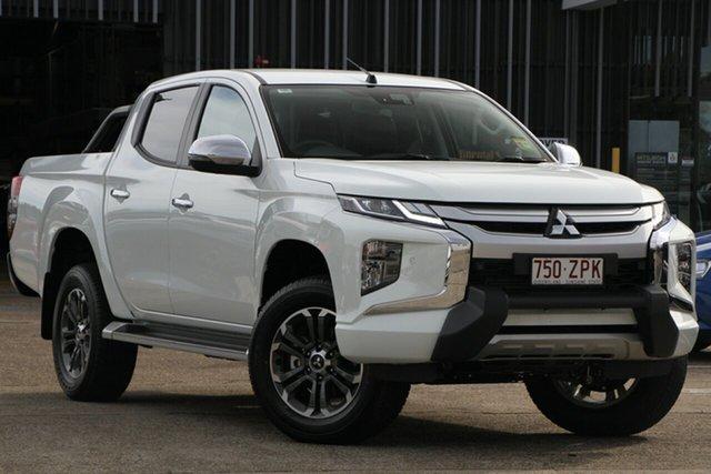 Demonstrator, Demo, Near New Mitsubishi Triton GLS Double Cab Premium, Bowen Hills, 2019 Mitsubishi Triton GLS Double Cab Premium Utility