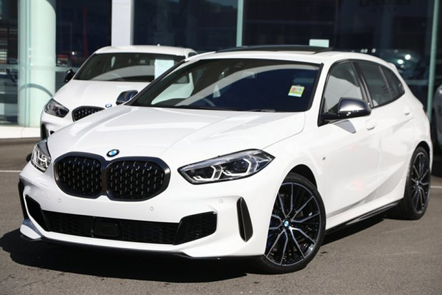 Demonstrator, Demo, Near New BMW M135i xDrive, Brookvale, 2019 BMW M135i xDrive Hatchback