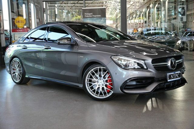 Used Mercedes-Benz CLA-Class CLA45 AMG SPEEDSHIFT DCT 4MATIC, North Melbourne, 2016 Mercedes-Benz CLA-Class CLA45 AMG SPEEDSHIFT DCT 4MATIC Coupe