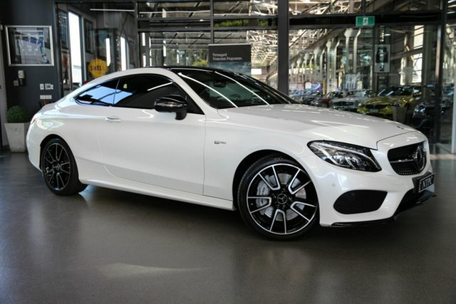 Used Mercedes-Benz C-Class C43 AMG 9G-Tronic 4MATIC, North Melbourne, 2017 Mercedes-Benz C-Class C43 AMG 9G-Tronic 4MATIC Coupe
