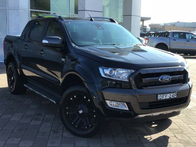 Discounted Used Ford Ranger Wildtrak Double Cab, Warwick Farm, 2016 Ford Ranger Wildtrak Double Cab Utility