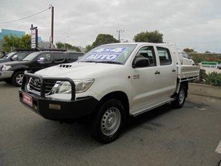 2013 Toyota Hilux SR Double Cab Utility.