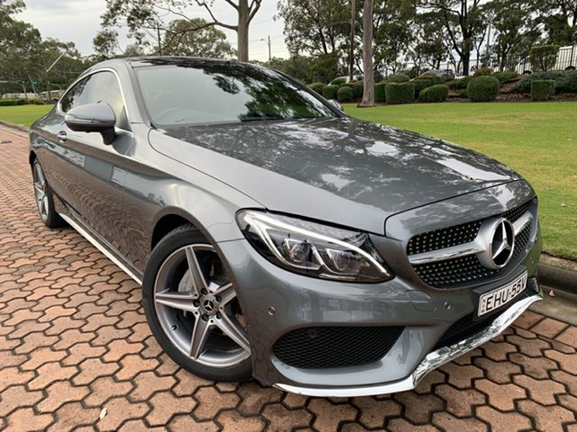 Used Mercedes-Benz C-Class C200 9G-Tronic, Warwick Farm, 2017 Mercedes-Benz C-Class C200 9G-Tronic Coupe