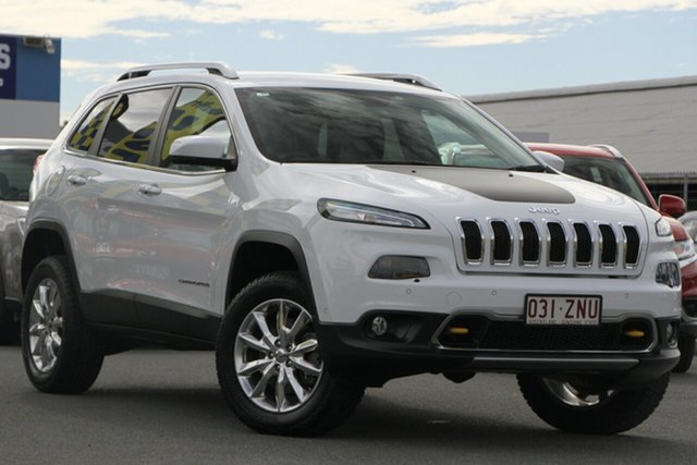 Used Jeep Cherokee Limited, Bowen Hills, 2014 Jeep Cherokee Limited Wagon