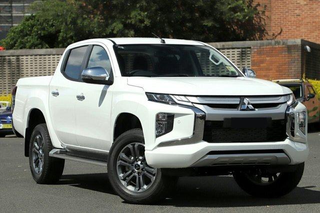 Demonstrator, Demo, Near New Mitsubishi Triton GLS Double Cab, Bowen Hills, 2020 Mitsubishi Triton GLS Double Cab Utility