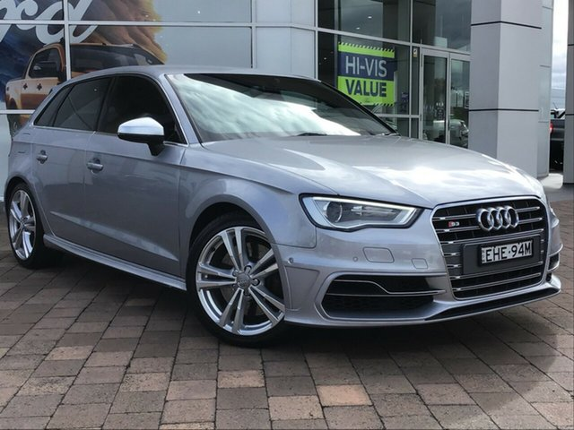 Discounted Used Audi S3 Sportback S Tronic Quattro, Warwick Farm, 2014 Audi S3 Sportback S Tronic Quattro Hatchback