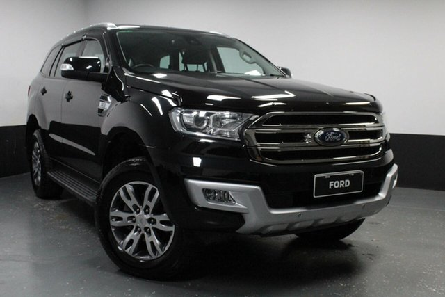 Used Ford Everest Trend 4WD, Cardiff, 2016 Ford Everest Trend 4WD Wagon