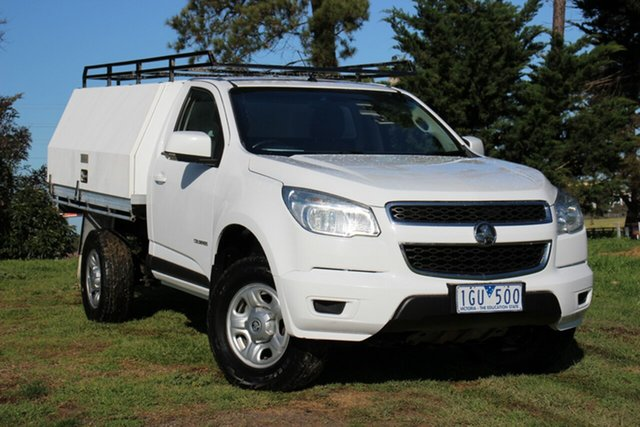 Used Holden Colorado LS 4x2, Officer, 2016 Holden Colorado LS 4x2 Cab Chassis
