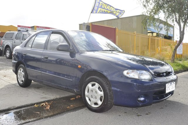 Used Hyundai Excel GLX, Hoppers Crossing, 1997 Hyundai Excel GLX Sedan