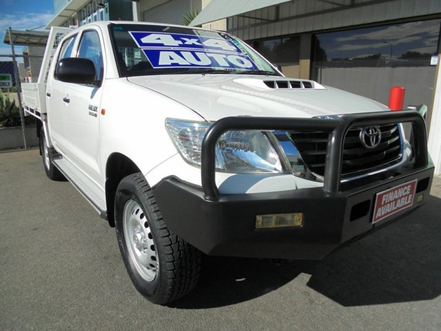 Used Toyota Hilux SR Double Cab, Edwardstown, 2013 Toyota Hilux SR Double Cab Utility