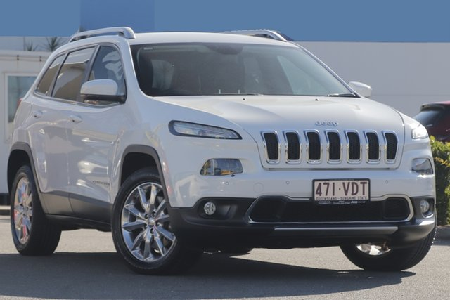 Used Jeep Cherokee Limited, Toowong, 2014 Jeep Cherokee Limited Wagon