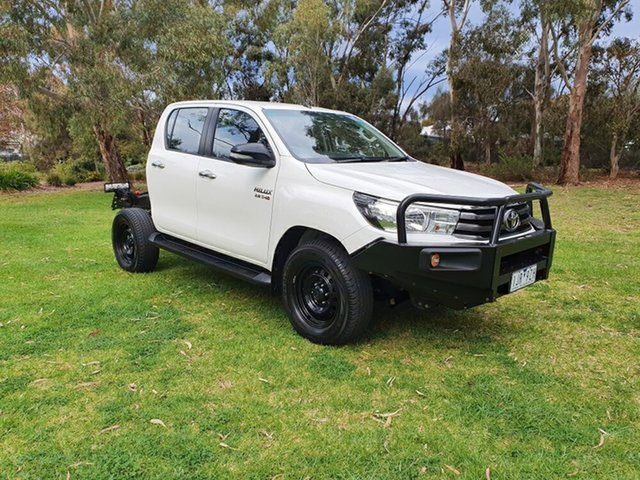 Used Toyota Hilux SR (4x4), Melrose Park, 2017 Toyota Hilux SR (4x4) Dual Cab Chassis