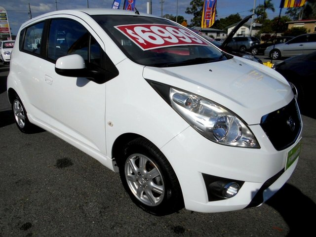 Used Holden Barina Spark CD, Slacks Creek, 2012 Holden Barina Spark CD Hatchback