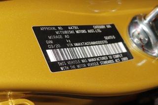 2020 Mitsubishi Mirage ES Hatchback.