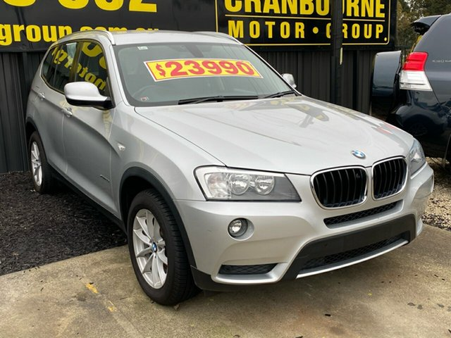 Used BMW X3 xDrive20i Steptronic, Cranbourne, 2013 BMW X3 xDrive20i Steptronic Wagon