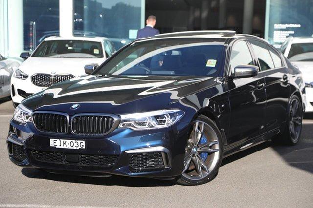 Demonstrator, Demo, Near New BMW M550i xDrive Pure, Brookvale, 2020 BMW M550i xDrive Pure Sedan